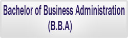 BBA, Bachelor of Business Administration